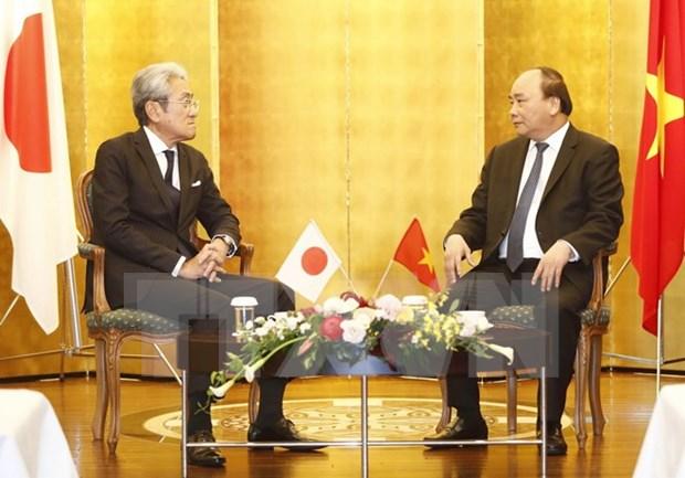 Abogan por impulsar inversion japonesa en Vietnam hinh anh 1