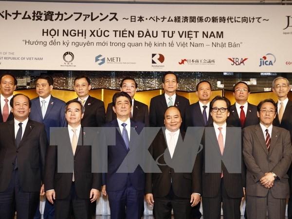 Premier vietnamita ve con grandes expectativas la nueva etapa de nexos con Japon hinh anh 1