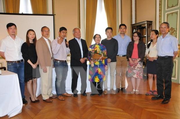 Destacan contribuciones de residentes vietnamitas en Belgica a los nexos bilaterales hinh anh 1