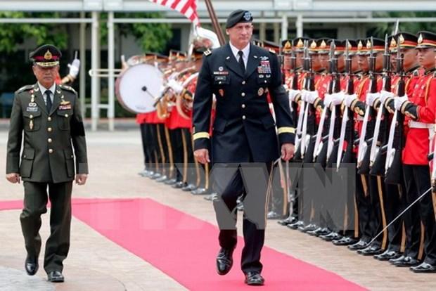 Estados Unidos y Tailandia debaten cooperacion militar hinh anh 1
