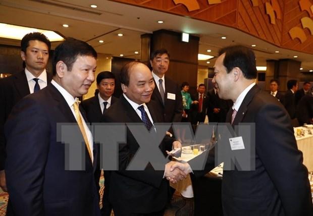 Prensa japonesa destaca propuestas de premier vietnamita para futuro de Asia hinh anh 1
