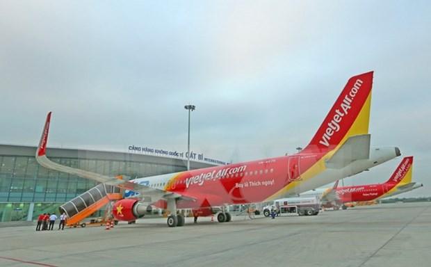 Grupo japones Mitsubishi financia compras de aviones de Vietjet Air hinh anh 1