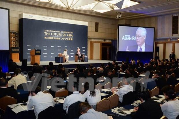 Lideres de grandes empresas debaten futuro economico de Asia hinh anh 1