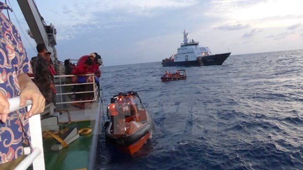 Indonesia repatriara a 690 pescadores vietnamitas hinh anh 1