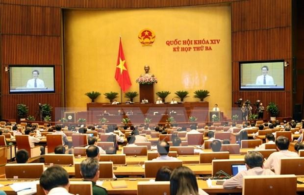 Parlamento vietnamita interpelara a miembros del gabinete la proxima semana hinh anh 1