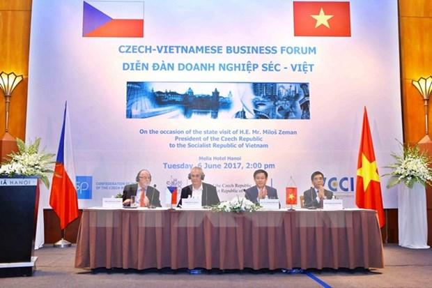 Vietnam y Republica Checa fortalecen nexos comerciales hinh anh 1