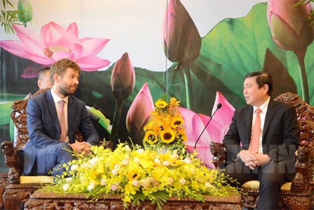 Respaldan la apertura de ruta aerea directa entre Ciudad Ho Chi Minh y Praga hinh anh 1