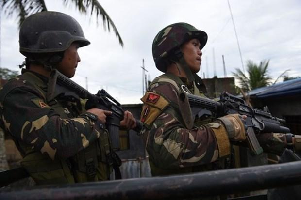 Fuerzas Armadas de Filipinas aplastan plan de terror en Marawi hinh anh 1