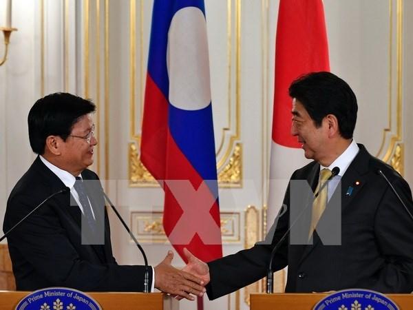 Japon y Laos analizan plan conjunto de desarrollo hinh anh 1