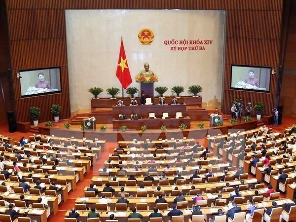 Parlamento de Vietnam analiza resolucion sobre deudas malas hinh anh 1