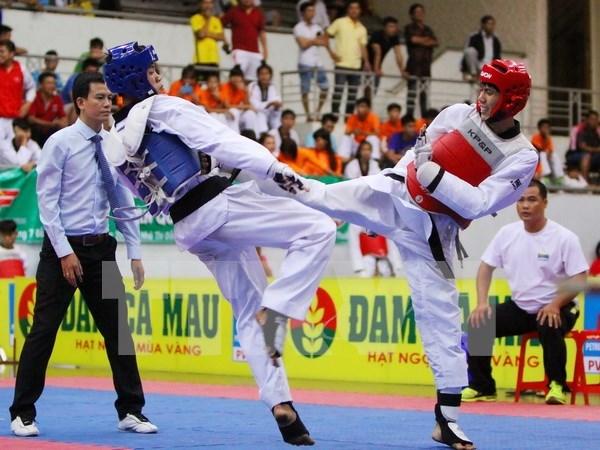 Iran gana Campeonato asiatico juvenil de Taekwondo hinh anh 1