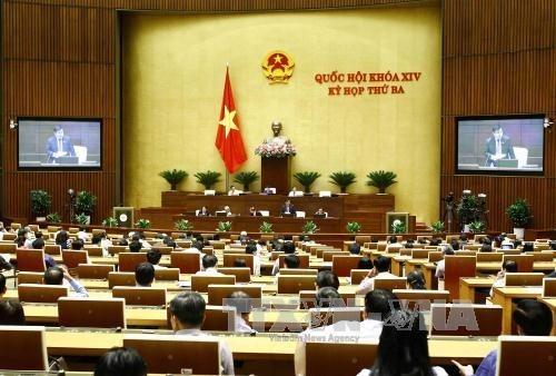 Parlamento vietnamita aprueba programa de elaboracion juridica para 2018 hinh anh 1