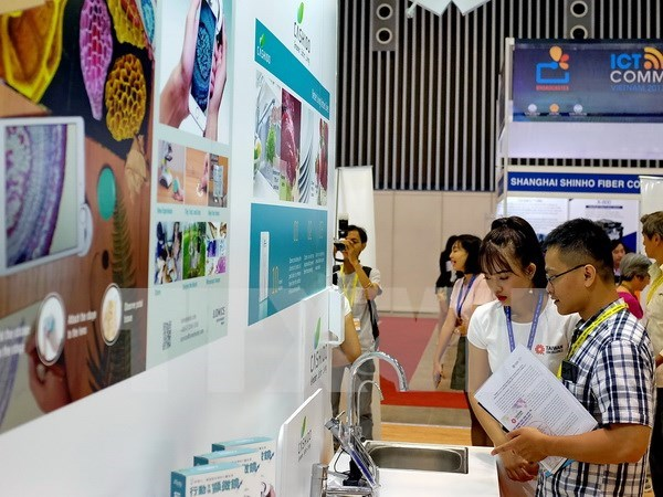 Concluyen exposiciones internacionales sobre TI en Ciudad Ho Chi Minh hinh anh 1