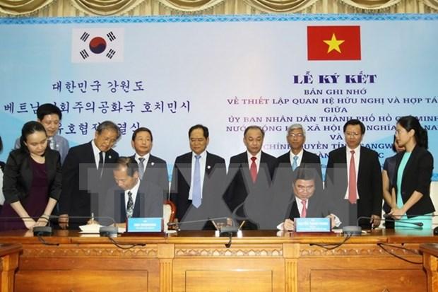 Provincia sudcoreana promueve inversion en Ciudad Ho Chi Minh hinh anh 1