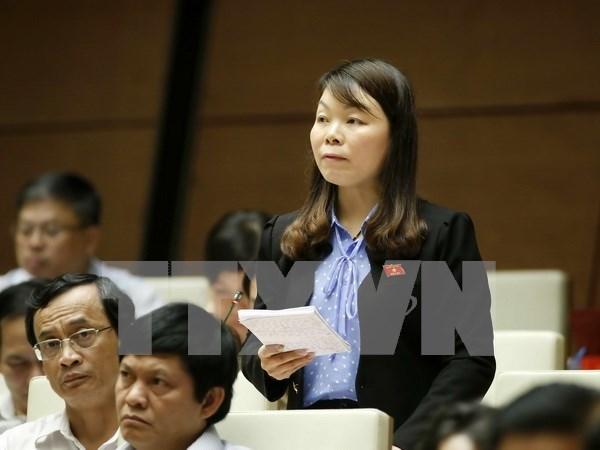  Asamblea Nacional de Vietnam traza soluciones para cumplimiento de meta economica hinh anh 1