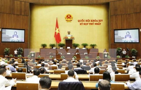 Parlamento respalda meta de crecimiento de 6,7 por ciento en 2017 hinh anh 1