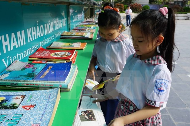 Promueven cultura de lectura con biblioteca verde en Ninh Binh hinh anh 1