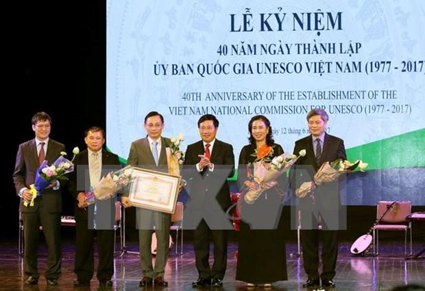 UNESCO, gran contribuyente a la promocion de imagen de Vietnam hinh anh 1