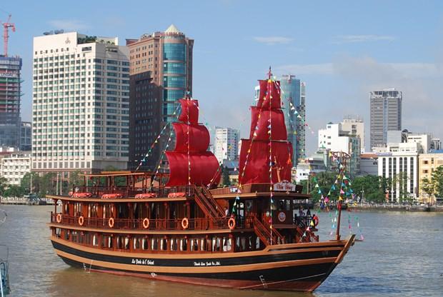 Ciudad Ho Chi Minh impulsa programas de turismo fluvial hinh anh 1