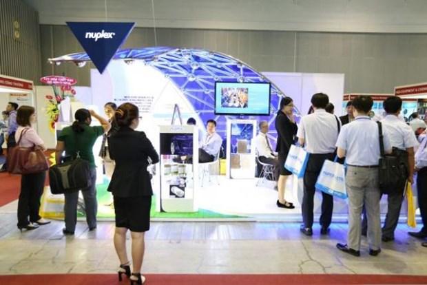 Inauguran exposiciones internacionales sobre industrias en Ciudad Ho Chi Minh hinh anh 1