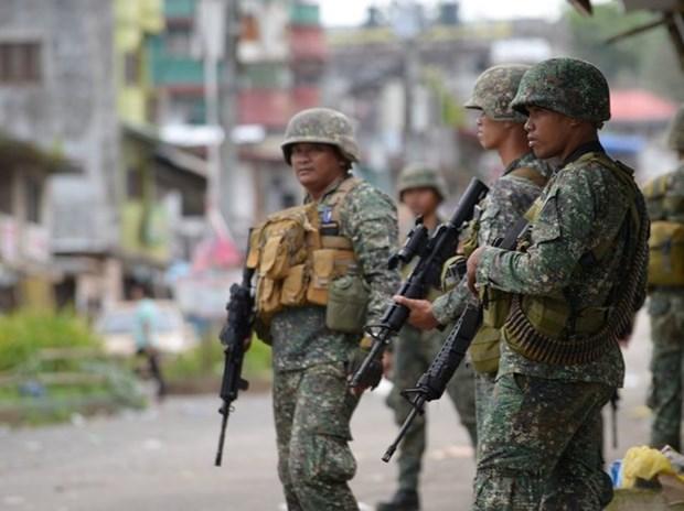Filipinas: grupo terrorista Maute controla el 20 por ciento de Marawi hinh anh 1