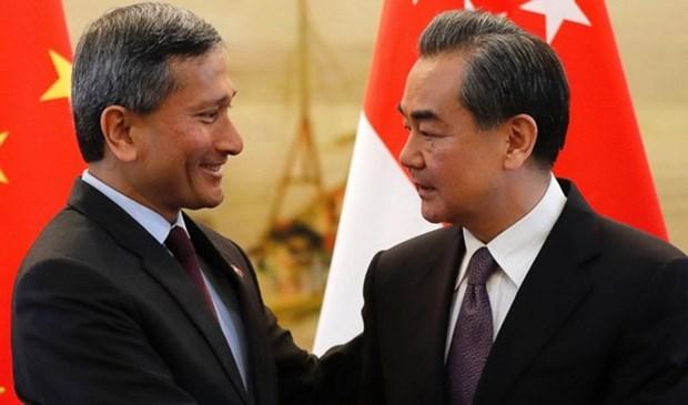 Singapur y China se esfuerzan por impulsar conversaciones sobre RCEP hinh anh 1