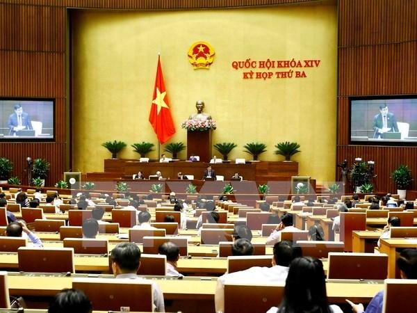 Parlamento vietnamita aprueba ley para desarrollo de empresas pequenas y medianas hinh anh 1
