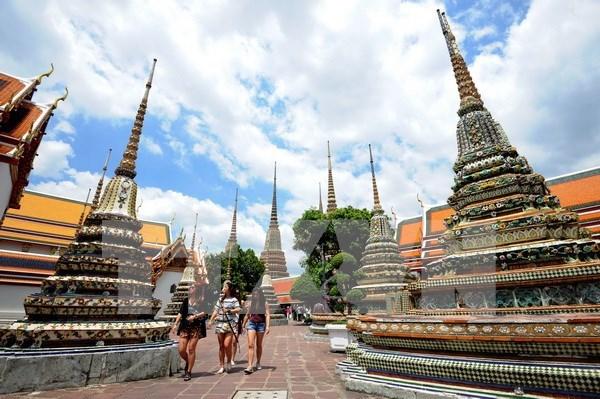 Tailandia reporta leve aumento de cantidad de viajeros foraneos en mayo hinh anh 1