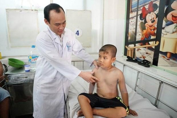 Gobierno espanol financia proyecto de seguridad alimentaria para ninos vietnamitas hinh anh 1