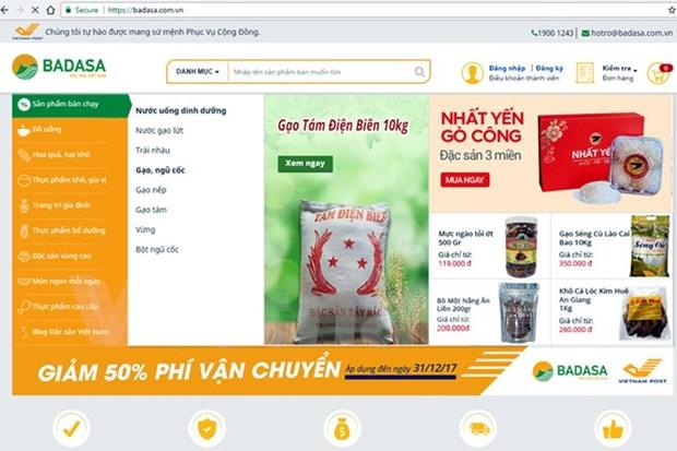 Lanzan sitio web de comercio electronico de especialidades locales en Vietnam hinh anh 1