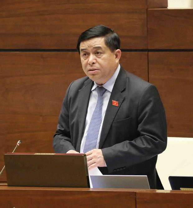 Parlamento vietnamita realiza interpelacion sobre inversiones publicas y atraccion de IED hinh anh 1
