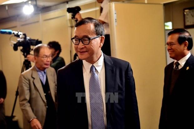 Camboya levanta orden de prohibicion de regreso de lider opositor hinh anh 1