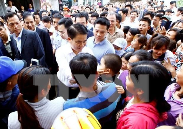 Hanoi inicia procedimiento legal sobre caso de arresto ilegal en Dong Tam hinh anh 1