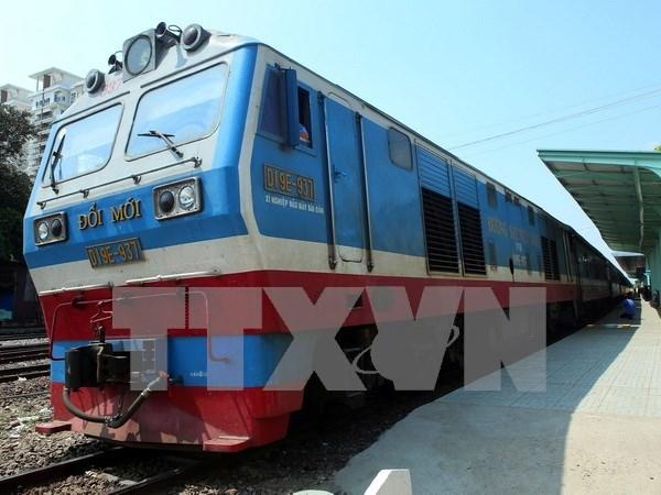 Inauguran ferrocarril de carga entre Vietnam y Suroeste de China hinh anh 1