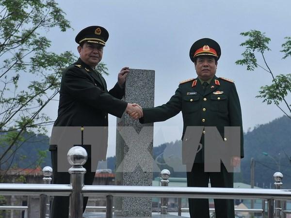 Cuarto encuentro de defensa fronteriza: muestra de fomento de lazos Vietnam- China hinh anh 1