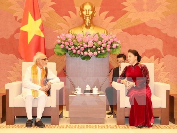 Vietnam e India fortalecen solidaridad hinh anh 1