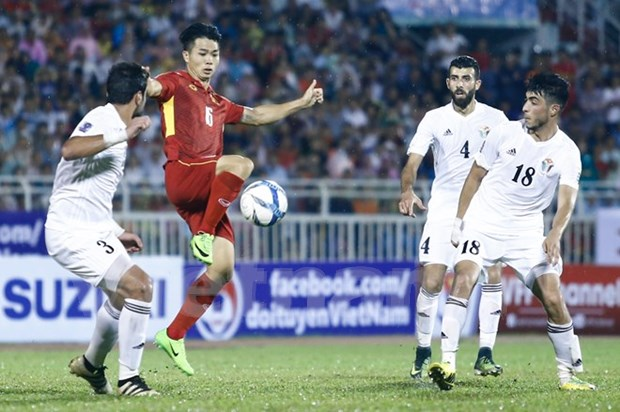 Vietnam empata con Jordania en eliminatoria de Copa Asiatica 2019 hinh anh 1