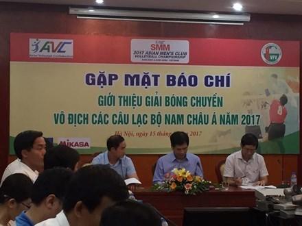 Vietnam sera sede del Campeonato de clubes de voleibol de Asia hinh anh 1