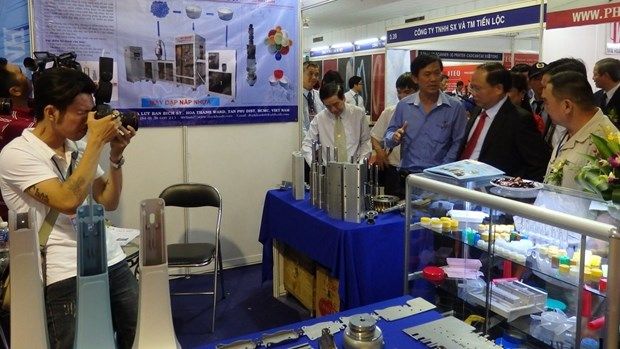 Vietnam y Japon promueven comercio mediante ferias de industrias de apoyo hinh anh 1
