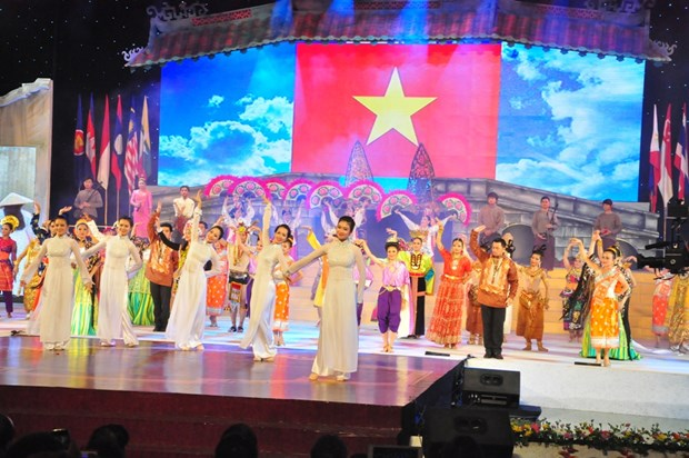 Velada artistica cierra festival patrimonial en Vietnam hinh anh 1
