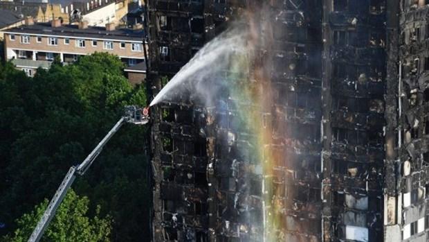 No hay victimas vietnamitas en incendio en Londres hinh anh 1