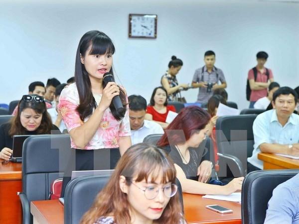 Distinguiran en Vietnam a obras periodisticas mas destacadas hinh anh 1