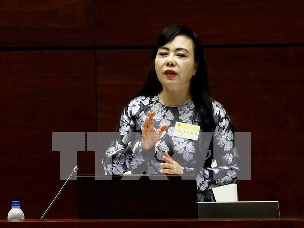 Asamblea Nacional de Vietnam debate sobre servicios de salud publica hinh anh 1