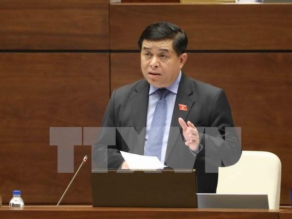 Vicepremier vietnamita explica situacion de morosidad de desembolso de inversion publica hinh anh 1