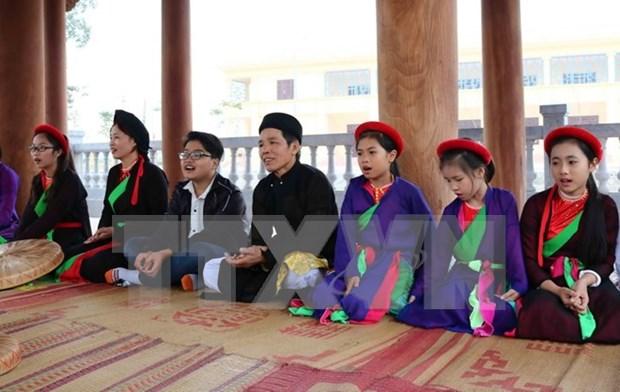 Inclusion de canto folclorico en plan de estudios reporta resultados positivos en Vietnam hinh anh 1