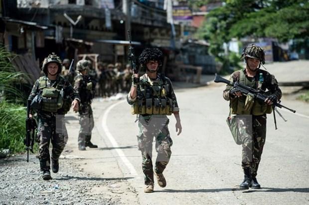 Filipinas detiene a miembro clave de grupo insurgente Maute hinh anh 1