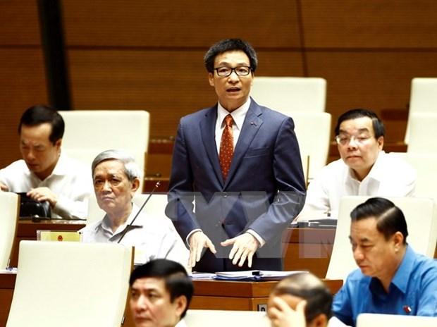 Electores califican de francas y sin rodeos respuestas de ministros vietnamitas al Parlamento hinh anh 1