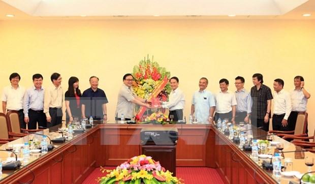 Congratulan a VNA por Dia de Prensa Revolucionaria de Vietnam hinh anh 1