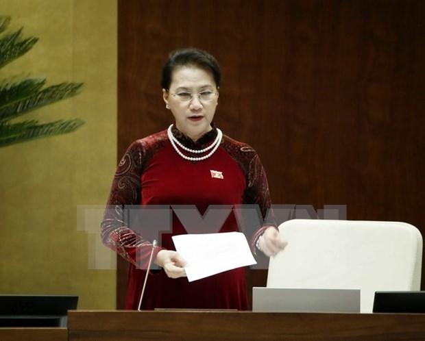 Satisfechos votantes ante eficiencia de sesiones de interpelacion del Parlamento vietnamita hinh anh 1