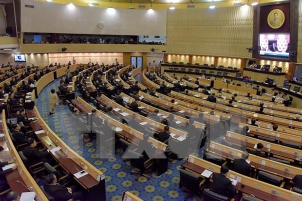 Parlamento de Tailandia aprueba ley sobre partidos politicos hinh anh 1